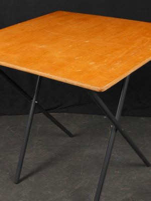 2 ft 6 ins x 2ft 6 ins Exam table, or 2 person trestle table