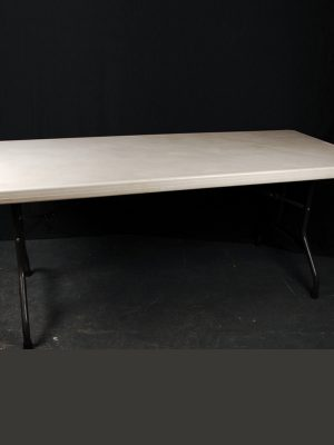 "Trestle Table 6' x 2' 6"" ( Seats 6 )"