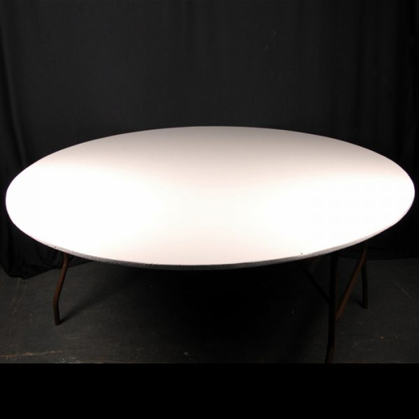 """5' 6"""" Round Table ( Seats 8 / 10 )"""
