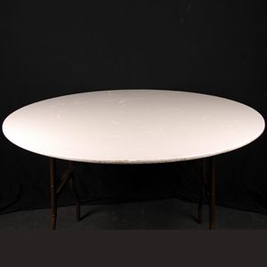 6' Round Banquet Table (Seats 10 / 12 )