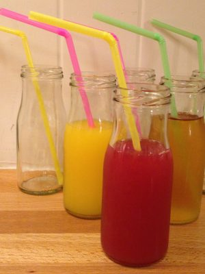 Mini milk bottle hire 5.25 oz / 150 ml