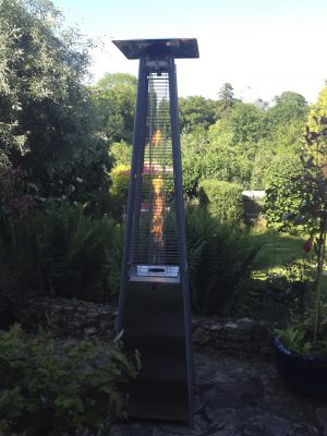 PATIO HEATER - S/S PYRAMID FLAME