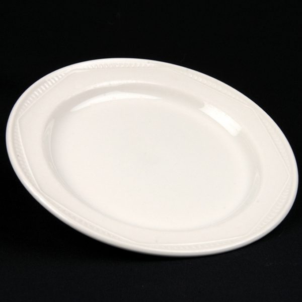 SIDE PLATE White Crockery Hire