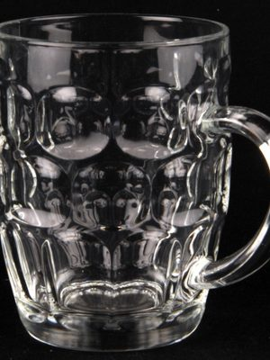 Beer Glass 1 Pint Handled