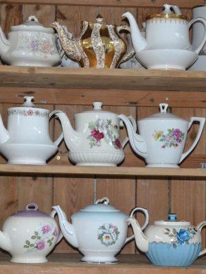 Vintage China Tea Pot