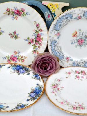 Vintage China Starter / Dessert Plate