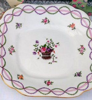 Vintage China Cake / Sandwich Plate