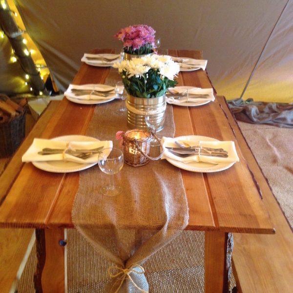 Rustic Vintage Table